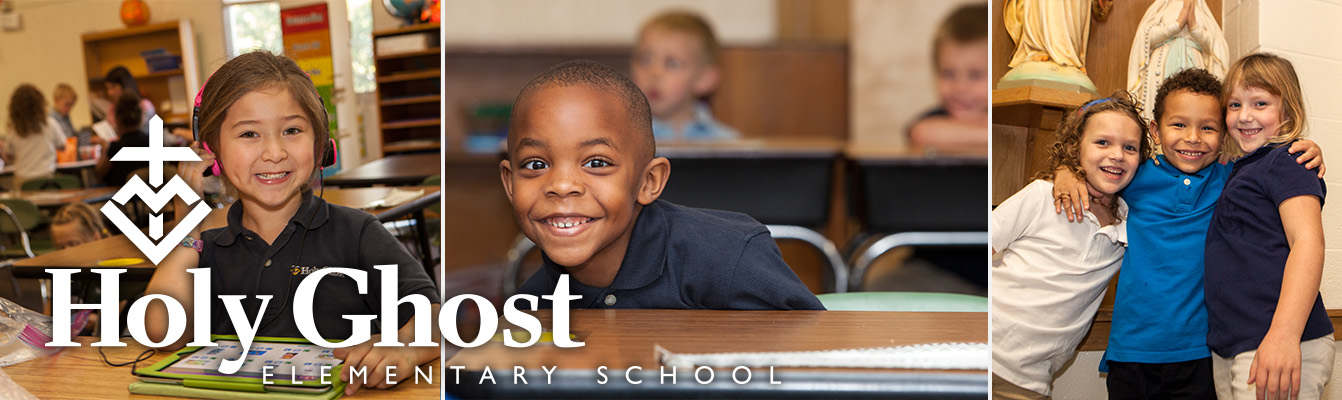 Holy Ghost Catholic Elementary School Header