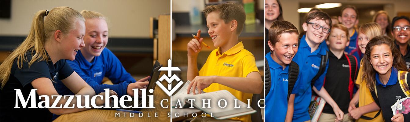 Mazzuchelli Catholic Middle School Header