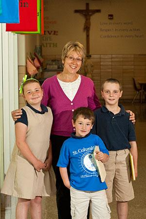 St Columbkille Catholic Elementary Welcome Image
